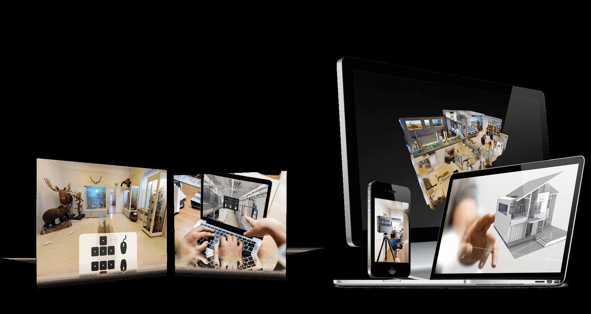 Virtuaaltuurid, 360° droonivideod, Google Street View Indoor